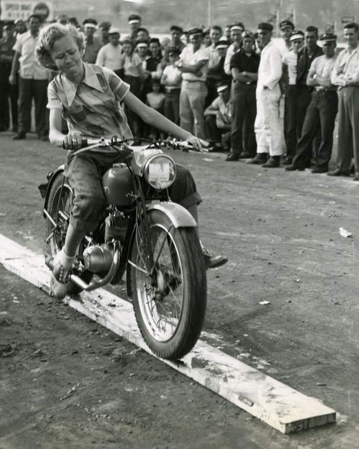vintage women motorcycle riders - Google Search