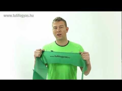 ▶ 23 gyakorlat Tuti Fogyás Fitneszszalaggal - YouTube