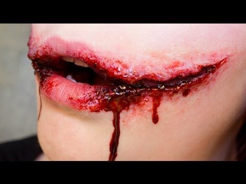 Hey guys! Today Im doing a tutorial on the Chelsea Smile. A Chelsea Smile is a torture term also known as the Glasgow Smile or the Chelsea Grin. A victims mouth is cut and then extreme pain is inflicted causing the victim to scream in turn ripping the corners of the victims mouth and forming a smile. There are a few examples of this wound i...