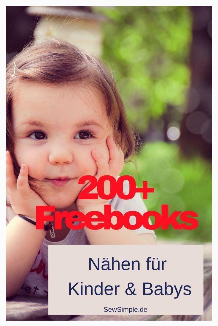 Fre Freebook: Baby & Kinder   – Nähen || Schnittmuster, Stoffe, Tipps, Inspiration