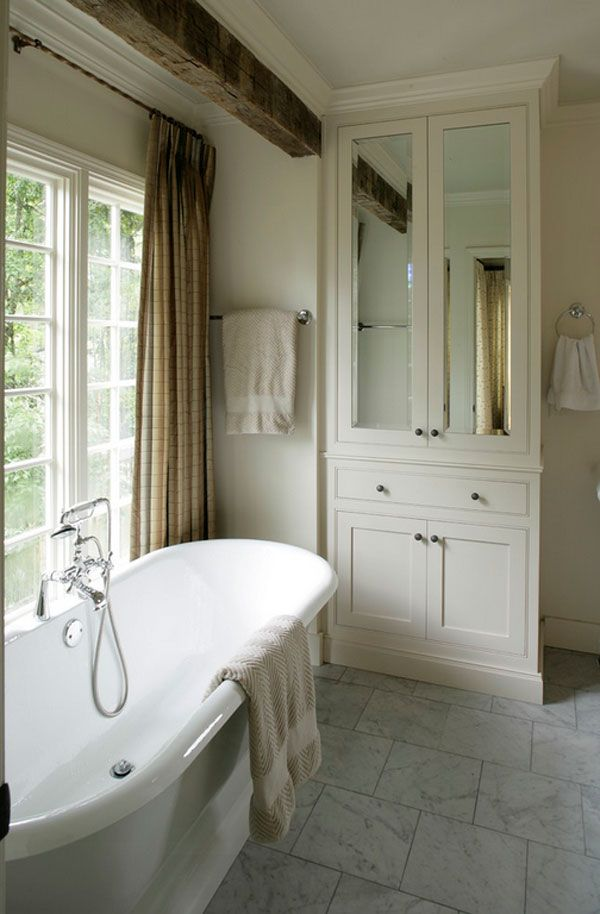 20 Clever Designs Of Bathroom Linen Cabinets Bathroom