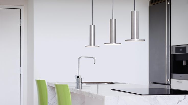 CIELO by Pablo - Minimal Form, Glare-Free, Flat Panel LED technology. 7 standard finish options.