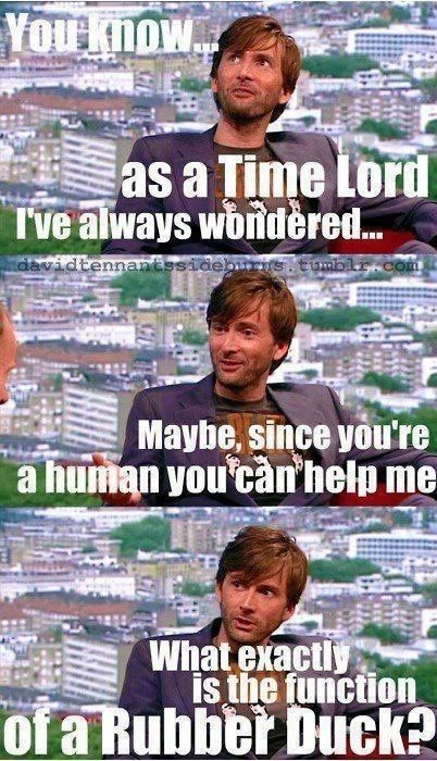 David Tennant Doctor Who Harry Potter Refrence D