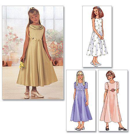 GIRLS DRESS PATTERN / Make Child Flower Girl  by WhatCameFirst