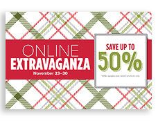 Sara Levin | theartfulinker.com | Online Extravaganza November 23 - 30.  Flash sales on November 23 and 30.  Perfect for crafters / papercrafting , card makers / card making, gift givers, scrapbookers / scrapbooking.