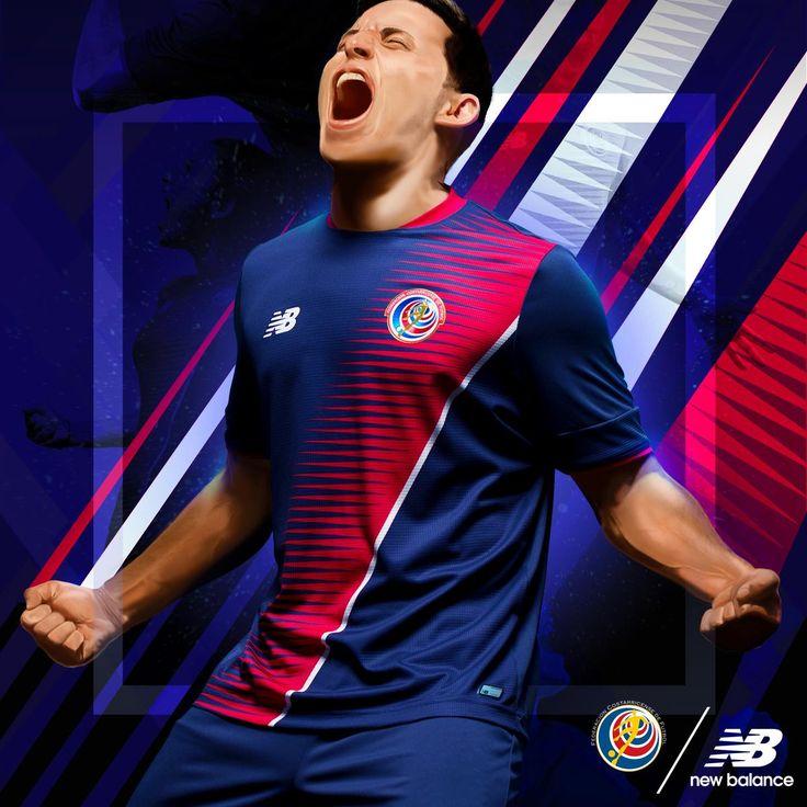 Terceira camisa da Costa Rica 2017-2018 New Balance