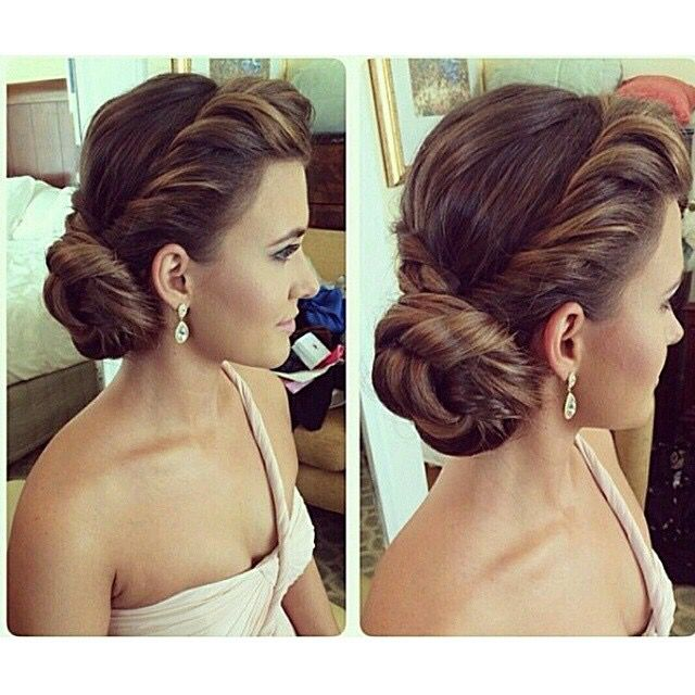I love this, but not sure how to make this work with a veil? - Twisted side bun upstyle