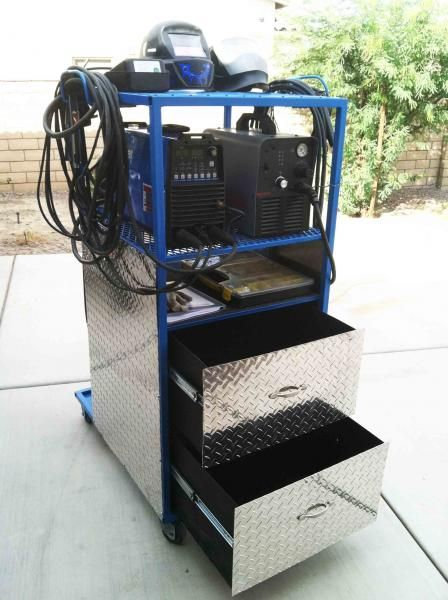 Cart (Borrowed Ideas) - WeldingWeb™ - Welding forum for pros and enthusiasts