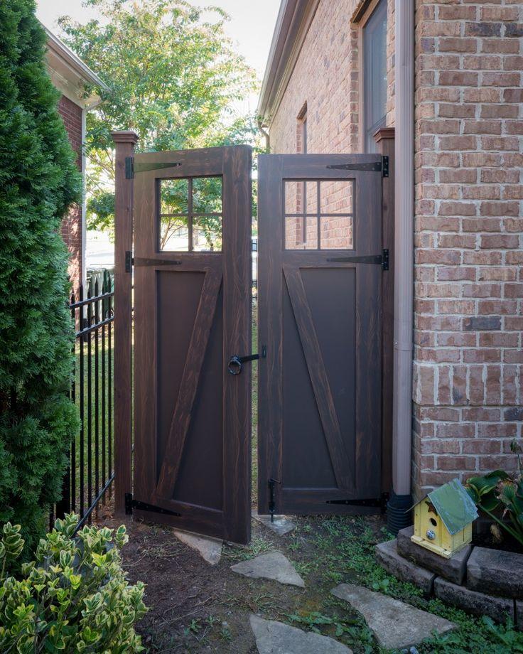 Best Fence Gate Ideas On Pinterest Gate Ideas Driveway Gate - Backyard gate ideas