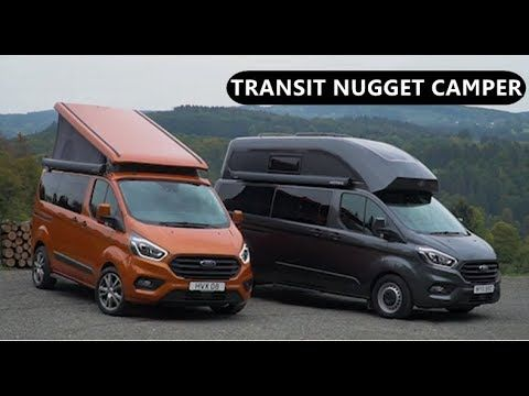2019 Ford Transit Custom Nugget Camper Youtube Ford Transit Transit Custom Motorhomes For Sale