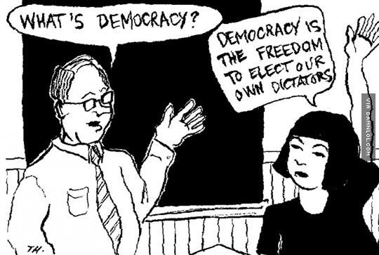 The Meaning Of Democracy - Damn! LOL