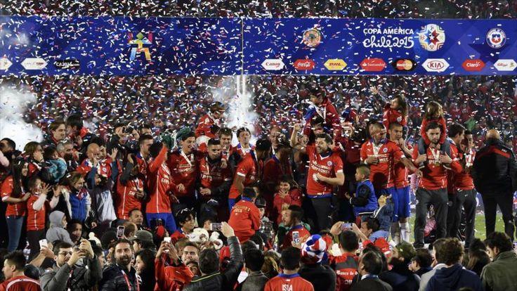 @Chile Campeón CopaAmerica2015 #9ine