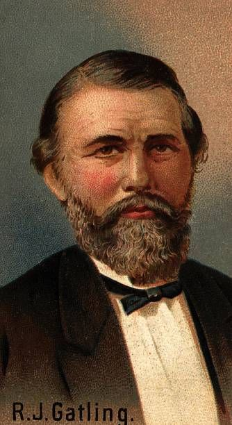 American inventor Richard Jordan Gatling He invented the rapidfire Gatling gun a revolving battery gun which fires 1200 shots a minute