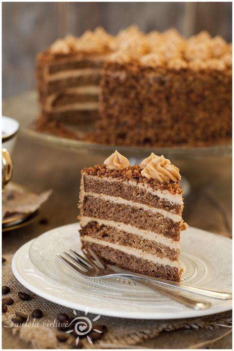 Gingerbread Caramel Cake