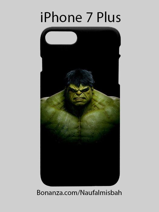 Incredible Hulk Avengers iPhone 7 PLUS Case Cover Wrap Around