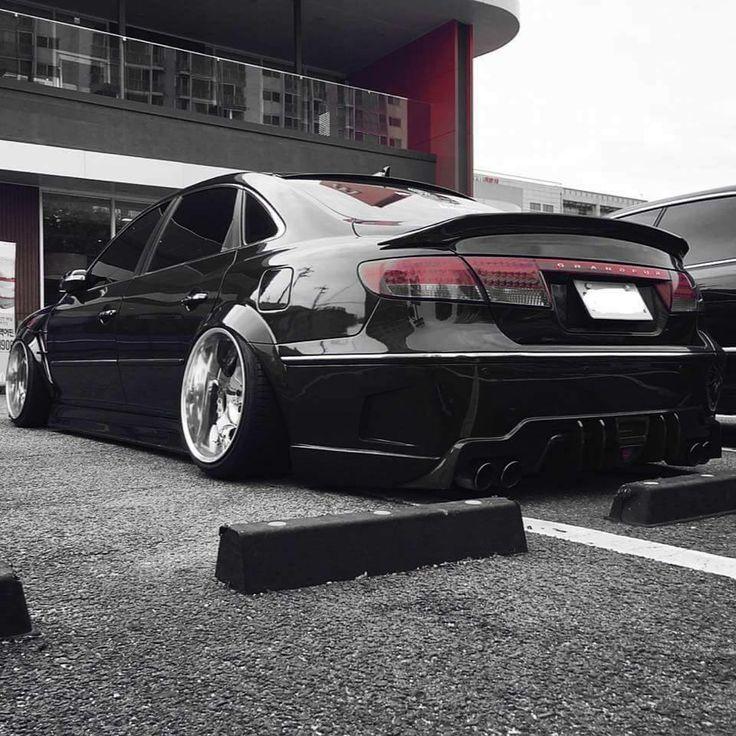 #Hyundai #Grandeur #Modified #Camber #Slammed #Stance