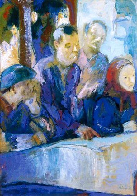 Szőnyi, István (1894-1960) -  Family rememberance 1955