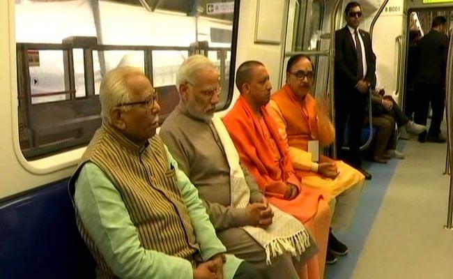#breaking : Modi lauds Yogi's modernity