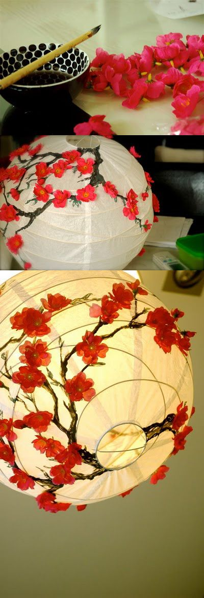 decorating your paper lantern