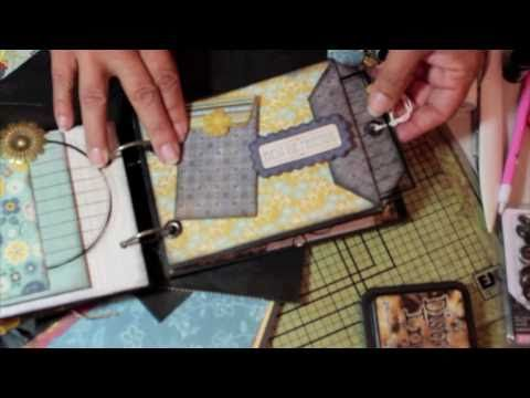 """** FOR BEGINNER MINI ALBUM MAKERS *** :) SUPER EXCITED!! :) In response to alot of questions on how to MAKE A PAPER BAG MINI or ENVELOPE POCKET... here's a SIMPLE 'HOW-TO' video on making this SUPER CUTE MINI!! :) Featuring Graphic 45's """"LE CIRQUE"""" COLLECTION ! ENJOY!! :)"""