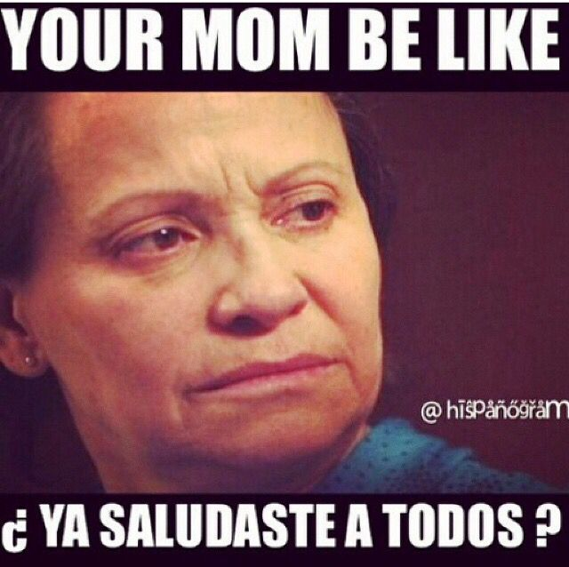 Your mom be like ...