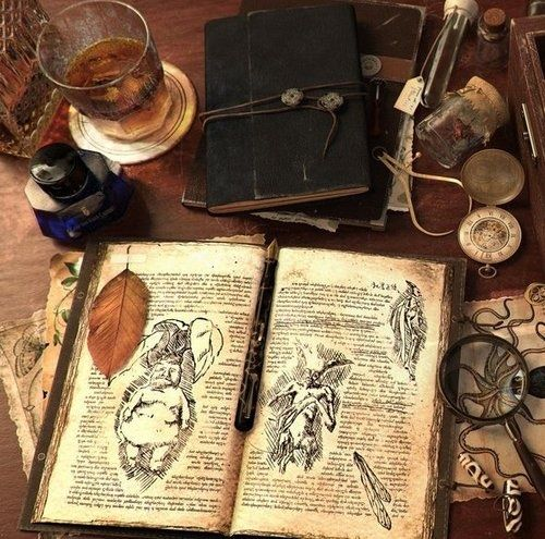 Writings Vintage Book Nature Magic Natural Antique Witch