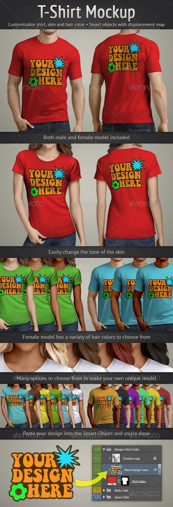 Scalable t shirt mockups more info - T Shirt Mockup