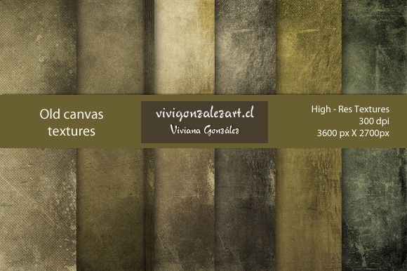 Check out Old canvas textures by ViviGonzalezArt on Creative Market