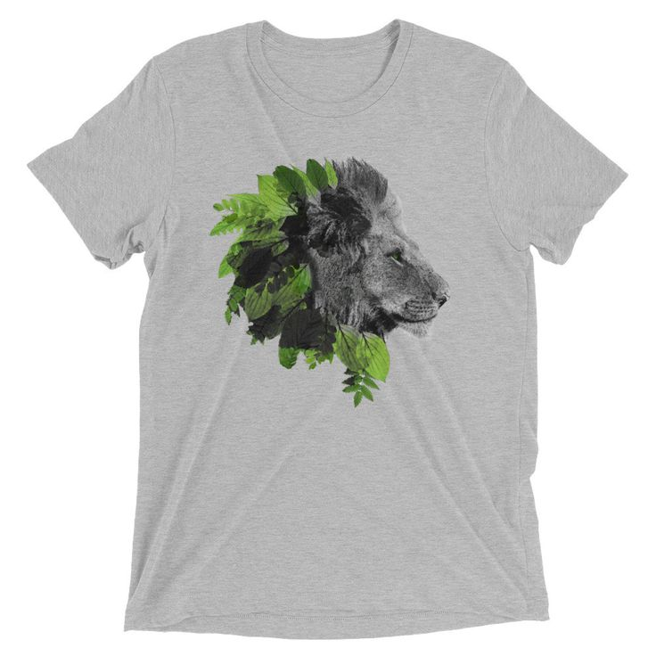 Natural Lion Men's Heather T-Shirt