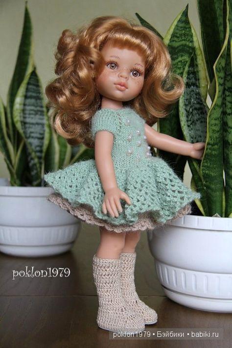 Дашенька без челки от Paola Reina / Игровые куклы / Шопик