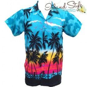 Turquoise Blue Hawiian Shirt Plus Size Tropical | hawaiian fancy dress costume