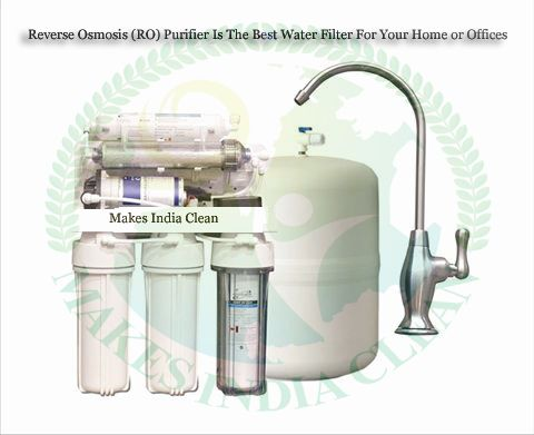 Reverse Osmosis (RO) Purifier Is The Best Water Filter For Your Home or Offices.