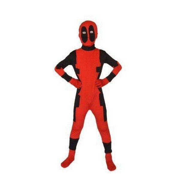 Avengers Costume Children Deadpool Zentai Suits Child Superhero Costume Cosplay Kids Size Lycra Spandex Halloween Costumes