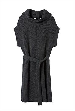 Wool Rollneck Dress - From Trenery