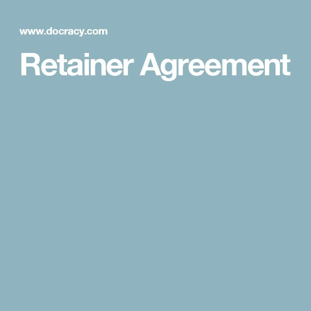 Ten Issues To Consider Before Signing Your Retainer Agreement - sample retainer agreements