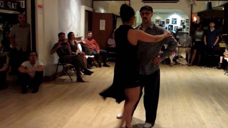 Tango Lesson: The Sacada Boleo Connection