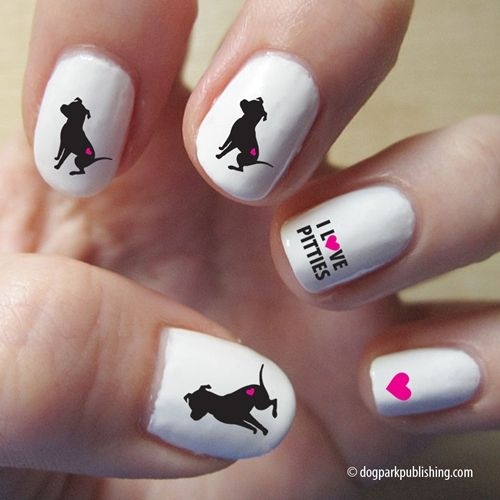 Pretty Pitties Nail Art, Dog Park Publishing