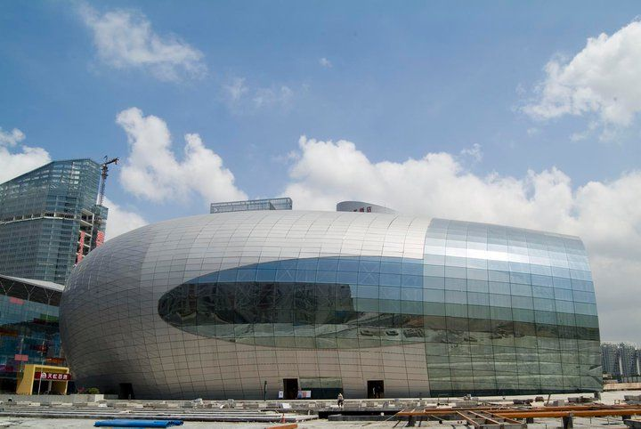Poly Shenzhen Grand Theatre. Shenzhen