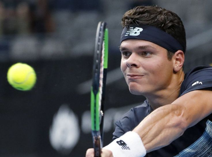Canada's Milos Raonic, who has been ill with the flu, struggled at the outset but came back to win his fourth-round match against Spain's Roberto Bautista Agut, 7-6 (6), 3-6, 6-4, 6-1.