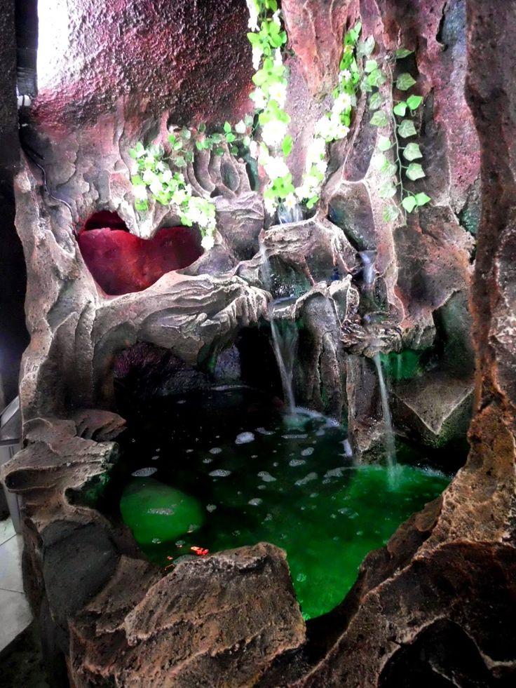 DESIGN DEKORASI DOKUMENTASI : kolam penyegar suasana