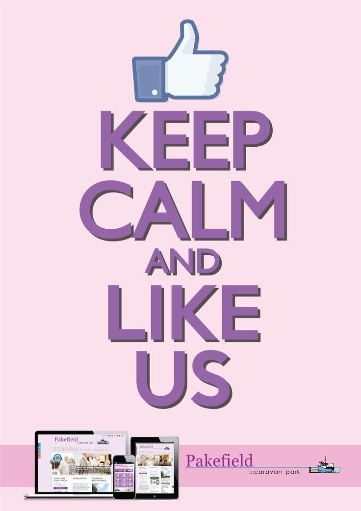 #KeepCalm & like @pakefield1 on #Facebook