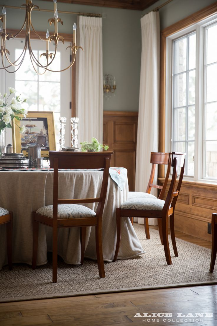 A Historic Dining Room That Alice Lane Updated With Paint Sconces And Custom