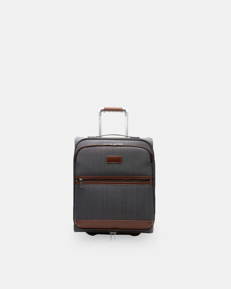 Ted Baker Two-tone small suitcase Grey