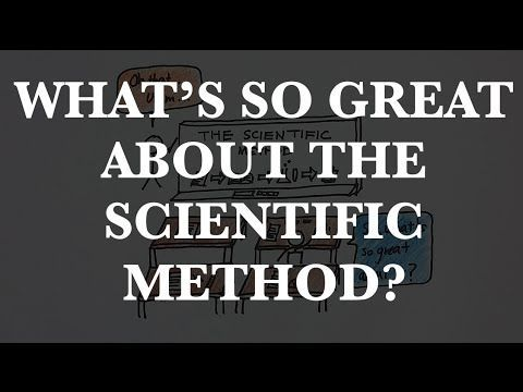 Episode 8: What's so great about the scientific method? - whiteboard video!  I'm not sure why they're so mesmerizing but they are.