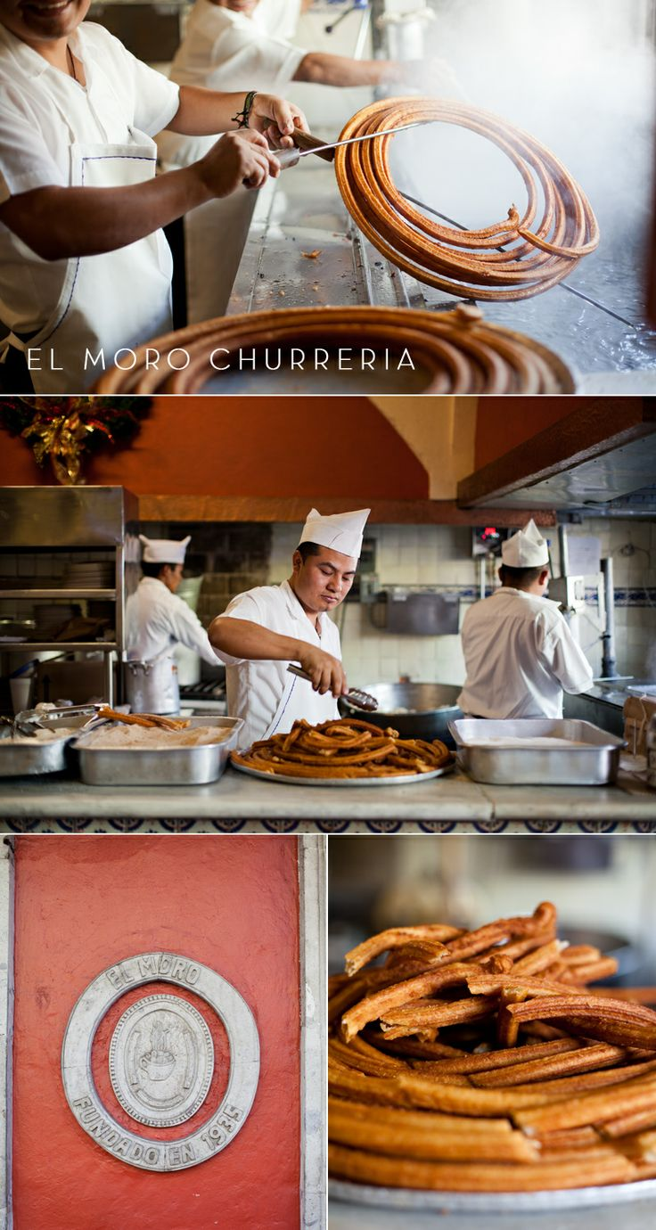 Tea Cup Tea: HOT CHOCOLATE & CHURROS AT EL MORO CHURRERIA