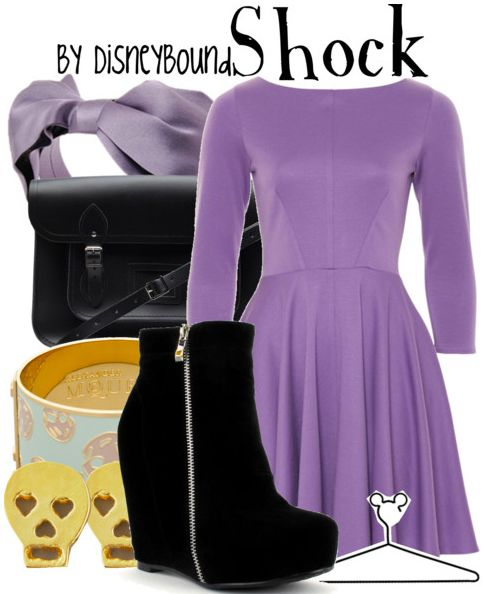 nightmare before christmas | Disney Bound... Love this whole outfit!!