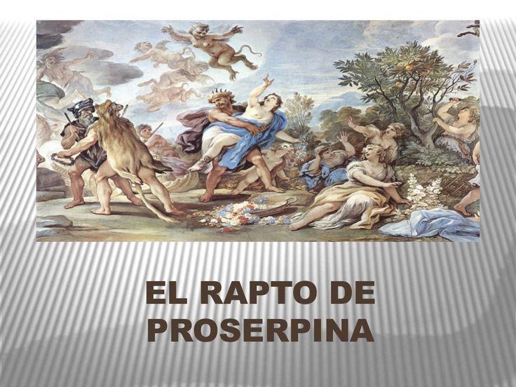 El rapto de Proserpina by Juan José Tejero Baeza