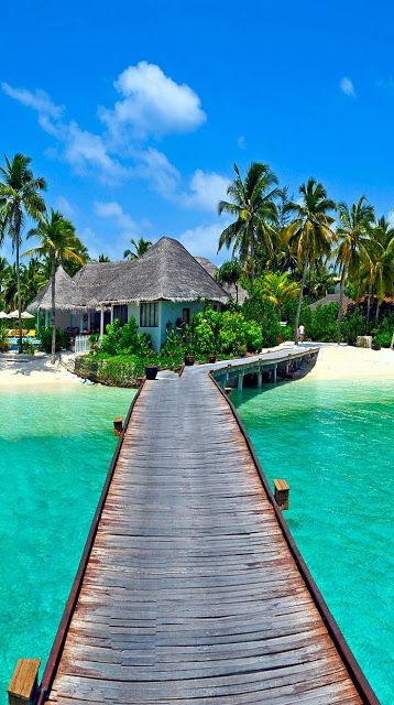 Beautiful View of Most Romantic Archipelago on Earth, Maldives