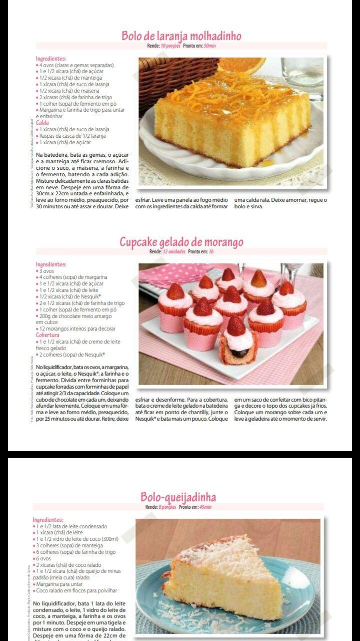 Pin De Julia Domingos Em Bolo Bolo De Cupcake Receitas