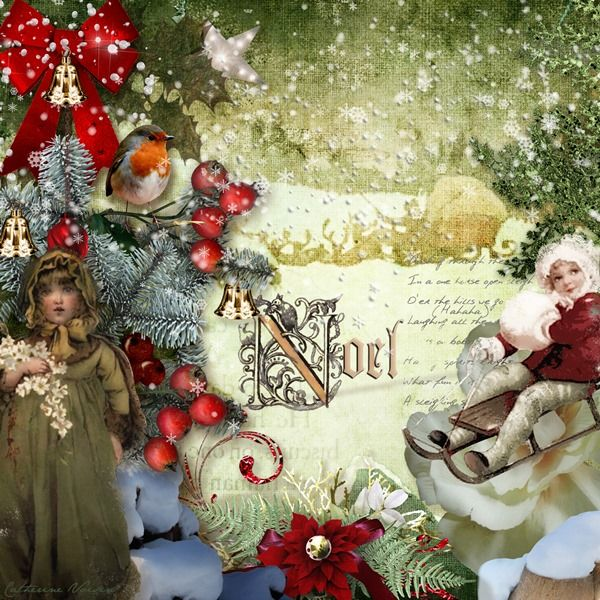 """NEW kit """"Once Upon a Christmas"""" by G&T https://www.e-scapeandscrap.net/boutique/index.php?main_page=product_info&cPath=113_189&products_id=8126&zenid=0c902f18939b882ce3f1117c62f717bb 18/10/2013"""